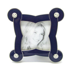 OEM Custom Wholesale Wedding  Gift Metal Photo Frame Hx-1844 pictures & photos