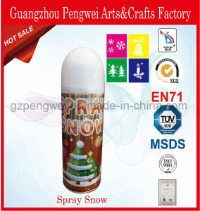 Wholesale 250ml Spray Snow for Christmas Window Decoration pictures & photos