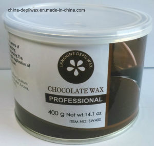 Kiwi Flavor Depilatory Wax Soft Strip Wax 400g Can pictures & photos