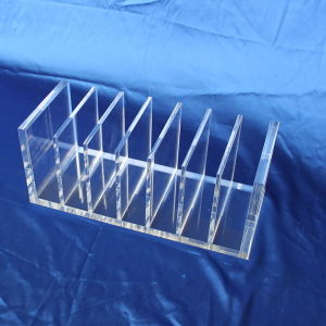 Customize Clear Desktop Acrylic Menu Stand Holder pictures & photos