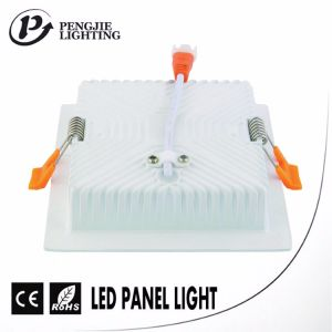 Die Casting ADC12 Aluminum 16W LED Backlit Panel Light Housing (Square) pictures & photos