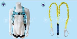 Safety Harness with Certification: Ce0158, Certification Ce-En 361: 2002. (EW0115H) -Set2