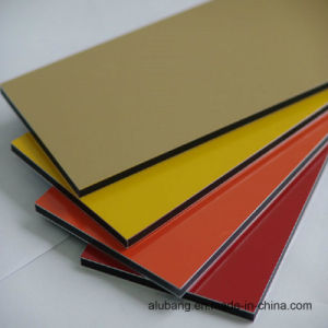 PPG and Becker Paint Aluminum Composite Panel (ALB-025) pictures & photos