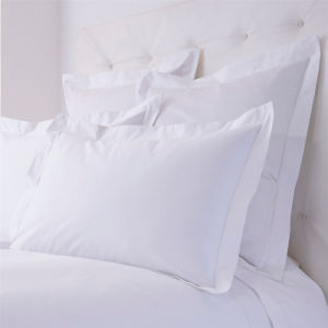 Factory Wholesale 180t Hotel Cotton Plain White Pillow Case Pillow Cover