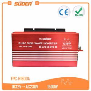 Suoer 12V 220V 1500W Sine Wave Frequency Inverter (FPC-H1500A)