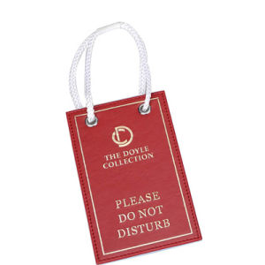 Leather Material Product Dnd Sign with Customized Color pictures & photos