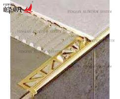 Decorative Metal Stair Nosing Profile pictures & photos