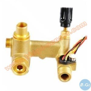 China Made Brass Material Piston Type Flow Switch pictures & photos