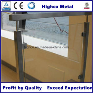 Square Glass Clamp Stainless Steel Handrail and Balustrade pictures & photos