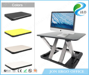 Gas Lifting Height Adjustable Sit Stand Desktop/Standing Desk Manufacturer (JN-LD04)