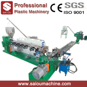 PP PE Waste Material Double Rank Standed Pelletizing Line pictures & photos