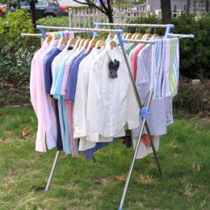 Stainless Steel X-Type Clothes Drying Hanger pictures & photos