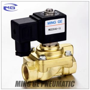 Ming Ge Normally Closed 40 Bar High Pressure Solenoid Valve Control Valve Pet Blow Valve