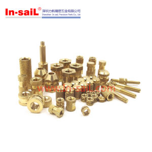 Metric Press-in Threaded Brass Inserts pictures & photos