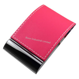 PU Business Card Holder for Gifts (BS-L-063) pictures & photos
