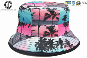 Top Quality Classic Reversible Breathable Fisherman Sun Hat/ Bucket Hat with Embroidery pictures & photos