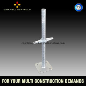 Ajustable Base Jack for Ringlock Scaffolding pictures & photos