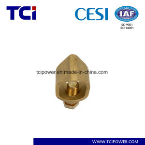 Brass Acorn Shaped Earth Rod Clamp/Rod Grounding Earthing Clamp/Ground Rod Clamp