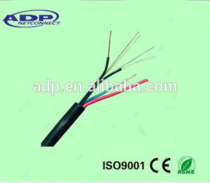 Indoor FTTH Fiber Optic Cable with 2c Power Cable pictures & photos