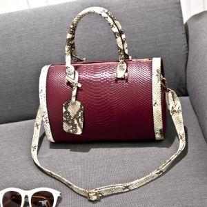 91421fd64e0f China 2015 Winter Snake Embossed Fashion Bag of Leather Handbag ...