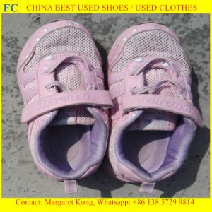 Clean and Big Size Man Sport Used Shoes for Africa Market (FCD-005)