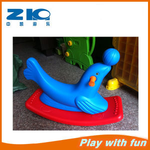 Kids Sea Lion Plastic Rocking Horse for Kindergarten pictures & photos