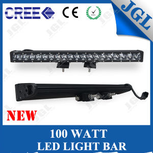 CE/RoHS/E4 Approved 100W LED Light Bar for 4WD Auto Vehicles