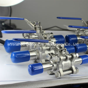 Sanitary Grade Extended Weld 3PC Ball Valve pictures & photos