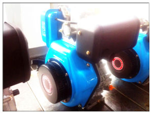 4 Stroke Air Cooled 3000rpm/3600rpm Diesel Engine 186F 5.7kw/7.6HP with Prices