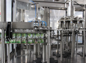 Low Price Riser+Filler+Capper Automatic Complete Juice Making Machine pictures & photos