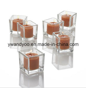 Decorative Aroma Soy Candle in Unique Glass Jar