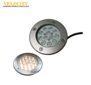 High Power Anti-Corrosion Stainless Steel LED IP68 RGB Swimming Pool Underwater Light