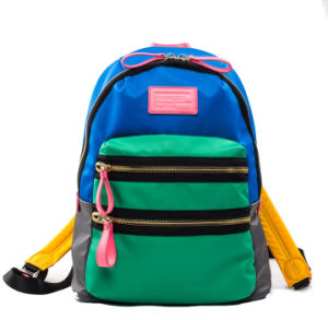 QQ Bear Hot Selling Colorful Nylon Backpackack Bag