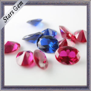 Variou Shapes and Colors Synthetic Corundum Gemstone pictures & photos