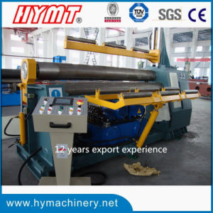 W11H-16X3200 hydraulic 3-roller Automatic plate bending rolling machine pictures & photos