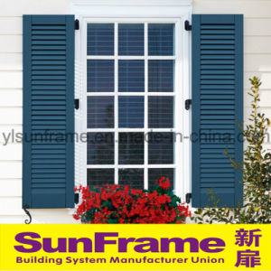 Aluminium Louvers/Blinds with French Windows pictures & photos