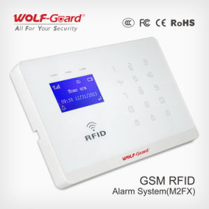 GSM GPRS Wireless Home House Fire Alarm System with Ios Android APP Control