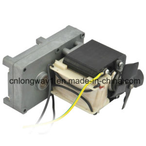 110V AC Gear Motor for BBQ Machine pictures & photos