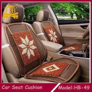 1* Car Summer Cool PVC Bead Seat Cover Massage Cushion Chair Cover+Waist Pillow