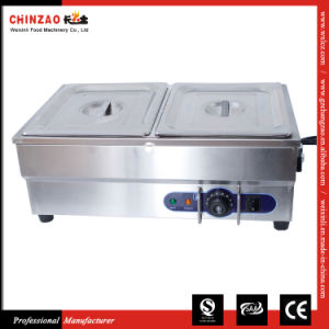 Counter Top Bain Marie 2 Pots pictures & photos
