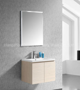 Wall-Mounted MDF Bathroom Vanity with Melamine pictures & photos