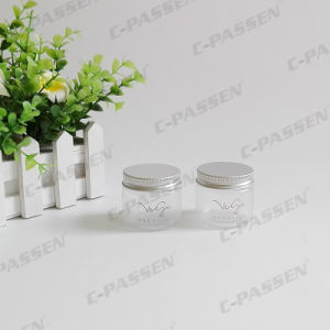 50g Matte Plastic Cream Jar with Silkscreen Printing (PPC-PJ-1708) pictures & photos