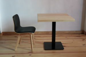 Modern High Quality Wooden Design Sqaure Wooden Table