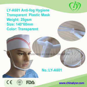 Ly-A601 Anti-Fog Hygiene Transparent Plastic Face Mask pictures & photos