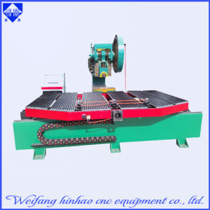 LED Words Hole 40t Punch Machine with Deep Throat