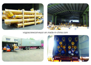 Sicoma Auger Spiral Flexible Cement Screw Conveyor
