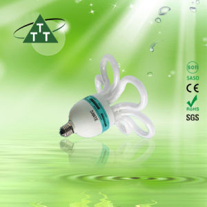105W Flower Halogen/Mixed/Tri-Color Energy Saving Lamp Down Price 2700k-7500k E27/B22 220-240V pictures & photos