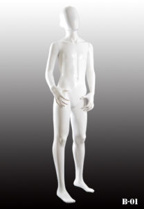 High Glossy Children Mannequin for Dress Display