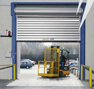 Flexon High Speed Garage Aluminium Window Roller Shutter Auto Door (Hz-FC0365) & China Flexon High Speed Garage Aluminium Window Roller Shutter ...