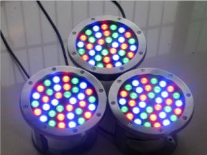 Yaye 18 AC/DC12/24V 36W LED Swimming Pool Light IP68/ 36W Warm White LED Fountain Light / RGB LED Fountain Light pictures & photos